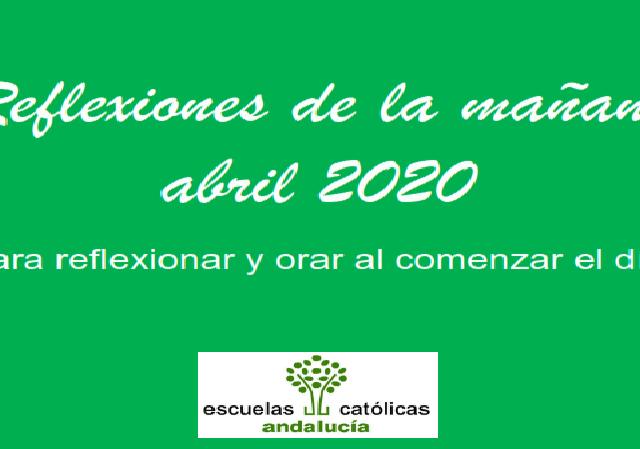 Reflexiones (ABRIL 2020)