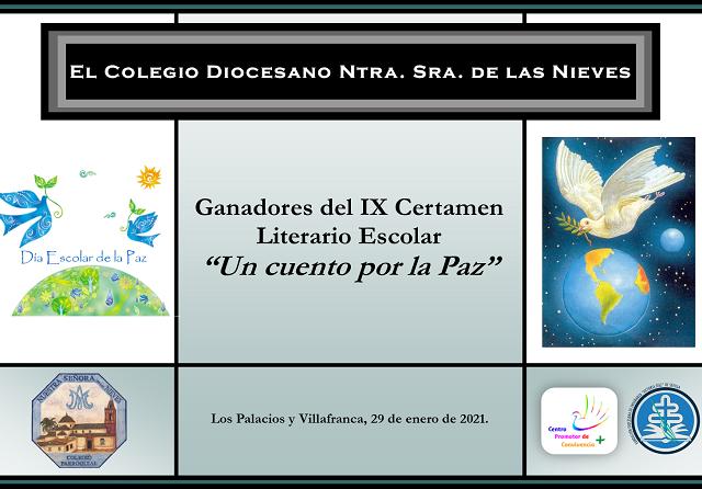DIPLOMA CERTAMEN LITERARIO (Un cuento por la Paz) II