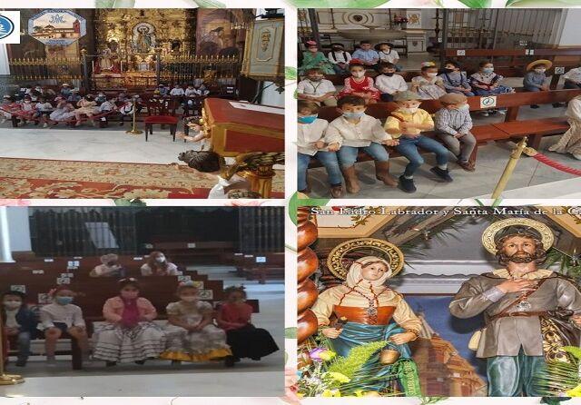 Ofrenda floral a San Isidro Labrador y Santa Mª de la Cabeza (Ed. Infantil) - copia